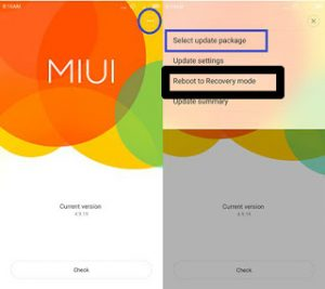 Cara Flash Redmi 1S Tanpa PC via Recovery