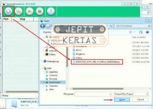 Cara Flashing Cherry Mobile J1S-B via Upgrade Download Tool