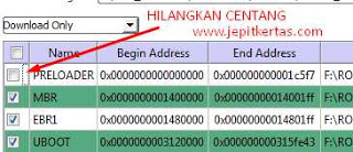 Cara Flash Advan G1 via SP Flash Tool Hanya 10 Menit