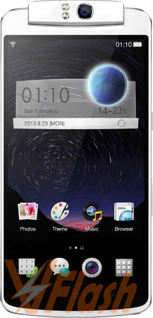 Cara Flash Oppo N1 Firmware Stock ROM via MSM Flash Tool