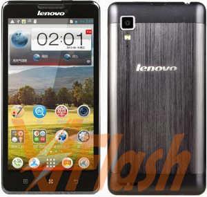Cara Flashing Lenovo P780 via Flashtool