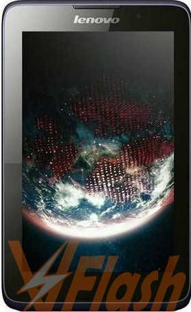 Cara Flashing Lenovo Tablet A3300HV Firmware ROM via SP Flash Tool