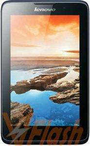 Cara Flashing Lenovo Tablet A3500FL via Flashtool
