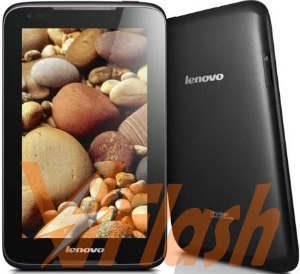 Cara Flashing Lenovo Tablet IdeaTab A1000F via Flashtool