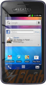 Cara Flashing Alcatel OneTouch T Pop 4010X via Flashtool