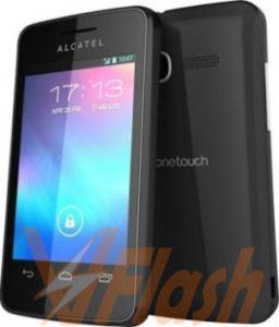 Cara Flashing Alcatel One Touch Pixi 4007D via Flashtool