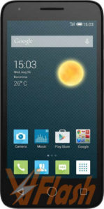 Cara Flashing Alcatel OneTouch Pixi 3 5017X via Flashtool