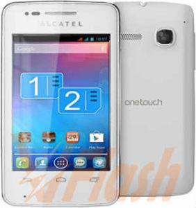 Cara Flashing Alcatel OneTouch TPop 4010D via Flashtool
