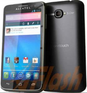 Cara Flashing Alcatel OneTouch XPop 5035X via Flashtool