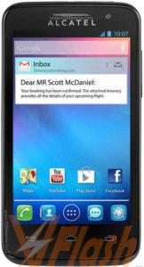 Cara Flashing Alcatel One Touch MPop 5020D via Flashtool
