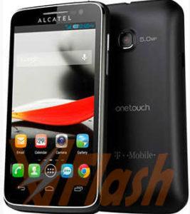 Cara Flashing Alcatel OneTouch 6110A via Flashtool
