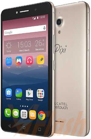 Cara Flashing Alcatel Pixi 4 8050E via Flashtool