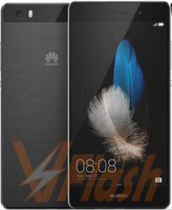 Cara Flashing Huawei P8 Lite B602 Dual SIM via DLoad Folder