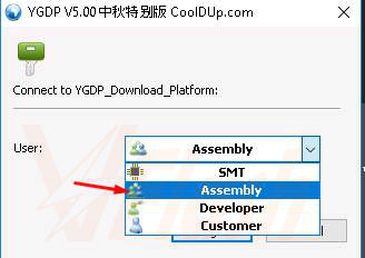 Cara Flash Coolpad 5855 Firmware Stock ROM via YGDP Flash Tool