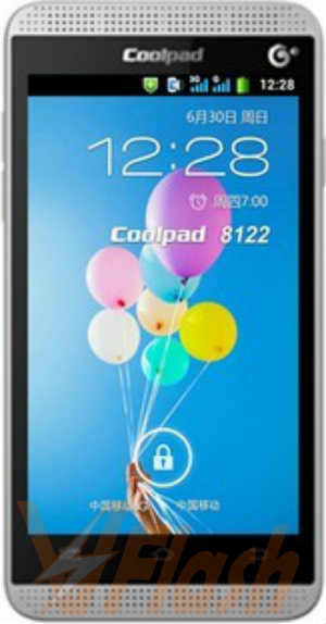 Cara Flashing CoolPad 8122 Firmware ROM via SP Flash Tool