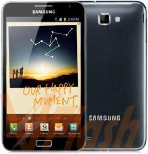 Cara Flashing Samsung Galaxy Note 1 N7000 via Odin