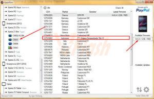 Cara Flashing Sony Xperia Z Ultra C6833 via Sony Flasher