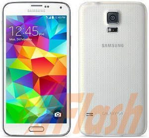 Cara Flashing Samsung Galaxy S5 SM G900H via Odin