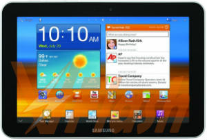 Cara Flash Samsung Galaxy Tab GT-P7500 via Odin