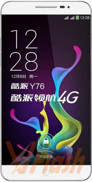 Cara Flash Coolpad Y76 Firmware Stock ROM via YGDP Tool