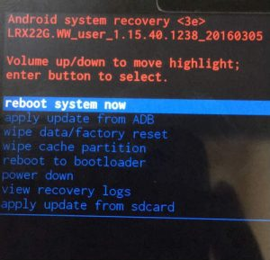 Cara Flash Asus ZenFone Max M1 Tanpa PC via Recovery