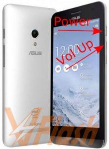 Cara Flash Asus Zenfone C Z007 ZC451CG via Asus Flash Tool