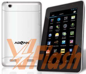 Cara Flash Advan T2E via RK Batch Tool