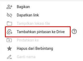 Tambahkan File Limit Google Drive