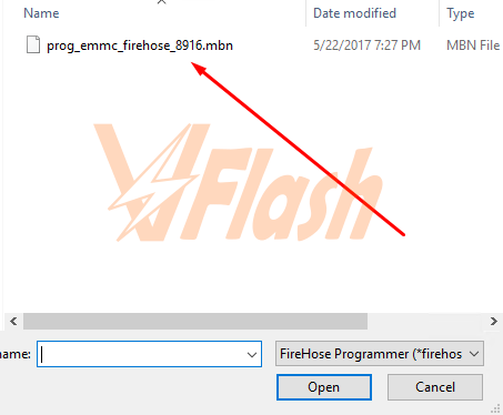 Cara Flash Lenovo A6000 Firmware Stock ROM via QFIL Flash Tool