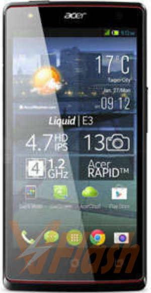 Cara Flash Acer Liquid E3 Firmware via SP Flash Tool