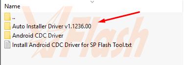 Folder CDC Driver Auto Installer