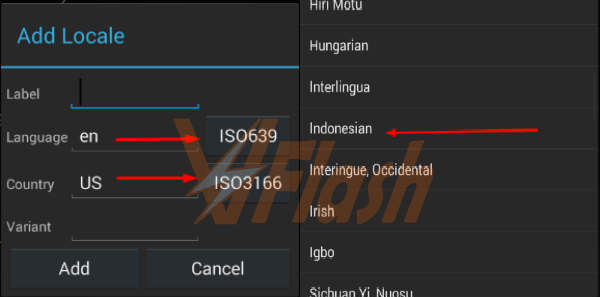 Pilih Bahasa Indonesia, Menambah Bahasa Indonesia di Android Semua Type