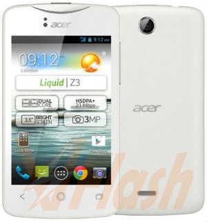 Cara Flash Acer Liquid Z3 Z130 Firmware via SP Flash Tool