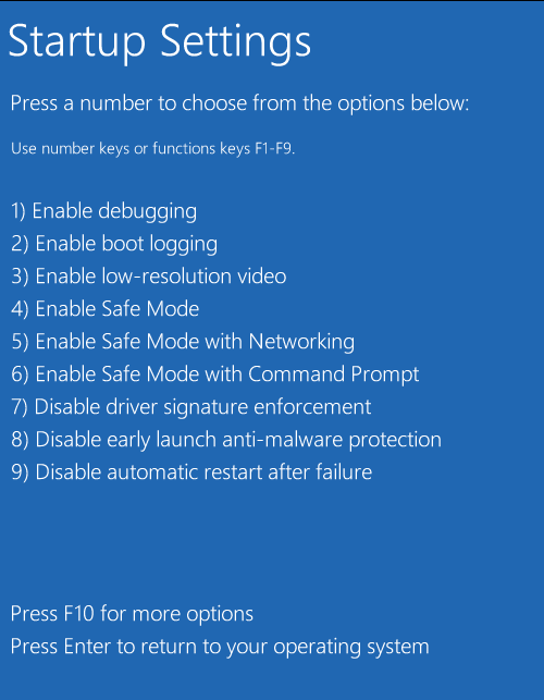 Cara Disable Driver Signature Enforcement pada Windows 10