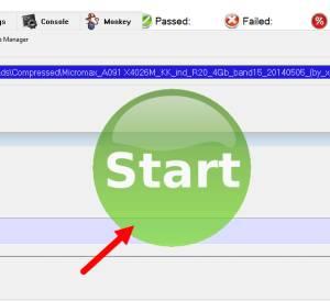 Flash Advan T5E Firmware via DFU Tool Berhasil